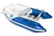 Inflatable boats up to 2.50 m