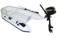 Packs Pneumatic Boat + Motor