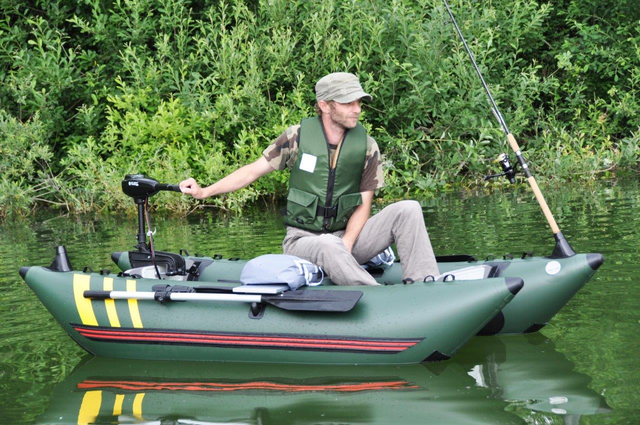 Inflatable pontoon boats and fishing float tubes - Aquatec P240 Hf Cat Pescador Gt Fishing Gt Tube Boat And