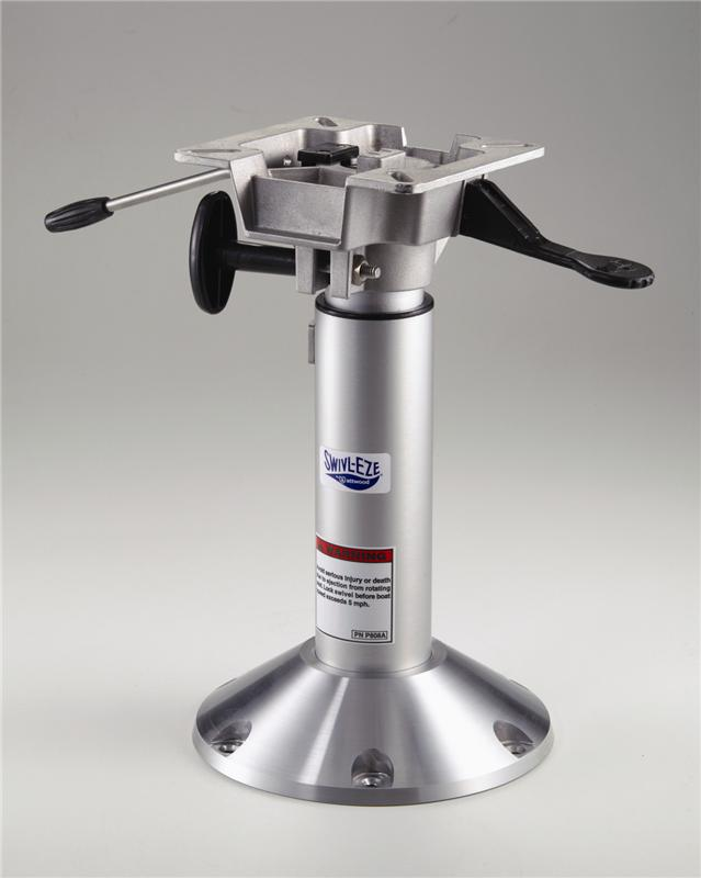 Attwood Bell Pedestal Adjustable Height with Seat Mount