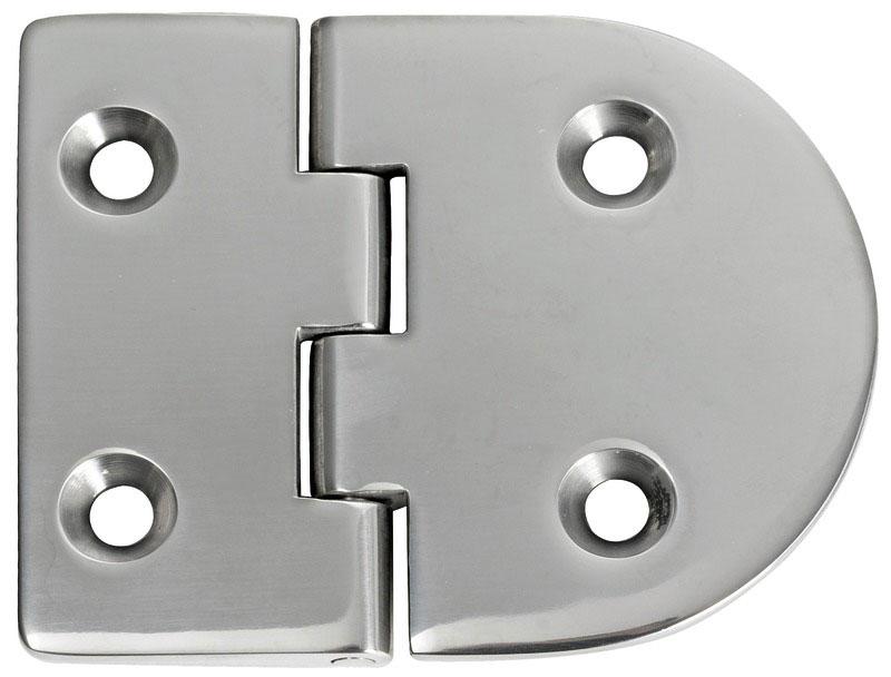 Bisagra acero inoxidable 83 x 65 mm apertura 95 grados for Bisagras acero inoxidable