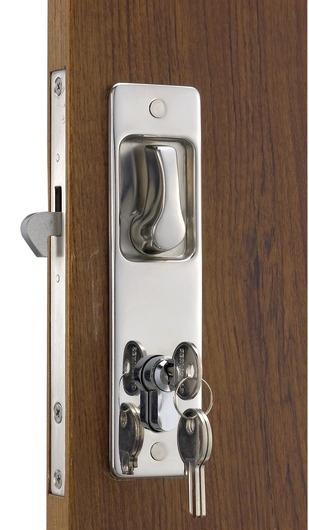 Cerradura puerta corredera manilla con gancho exterior - Puerta corredera exterior ...