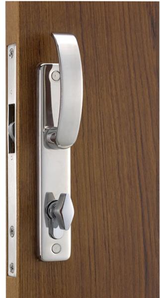 Cerradura puerta corredera manilla contemporary con cierre for Puerta corrediza externa