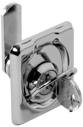Cerrojo con llave para cofres y portillos cerraduras - Cerrojos con llave ...