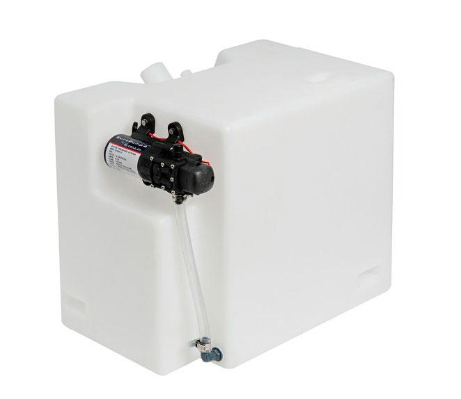 Deposito agua 32l rigido de polipropileno con bomba de - Bomba presion agua ...