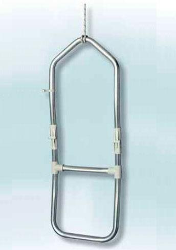 Escalera de aluminio 2 pelda os para neumaticas fondeo y for Escalera aluminio 2 peldanos