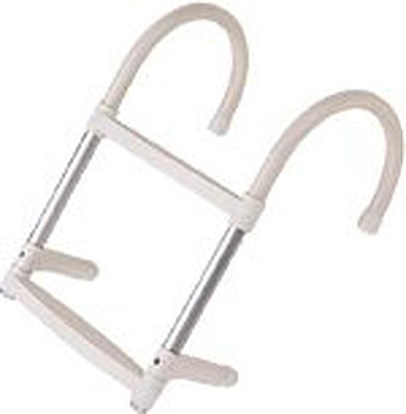 Escalera de aluminio 2 pelda os ajustables fondeo y for Escalera aluminio 2 peldanos