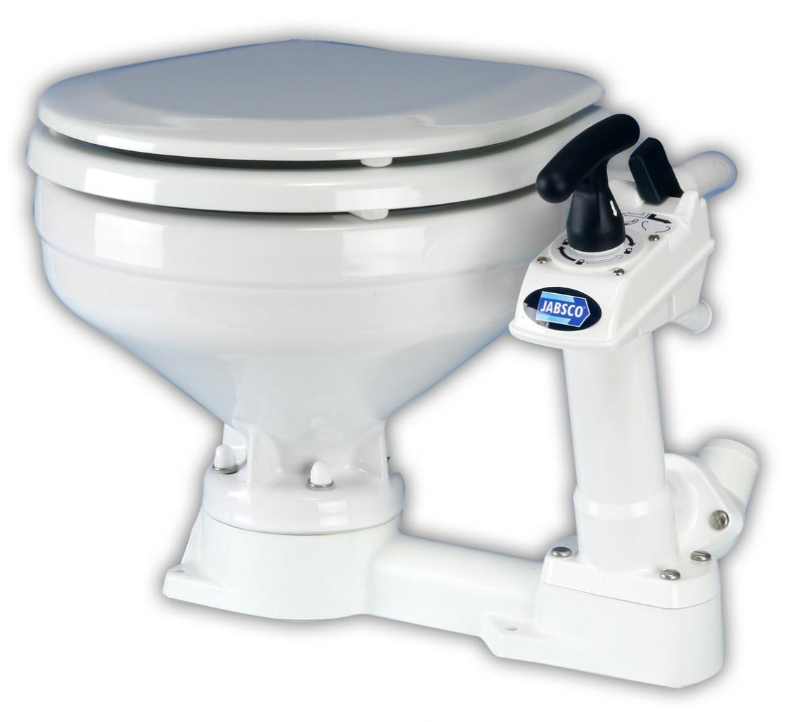 Jabsco Toilet WC Manual compact Twist And Lock > Plumbing and ...