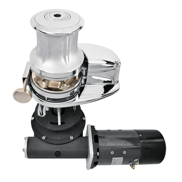Lofrans Windlass X4 2700W with drum Chromed bronze > Anchor