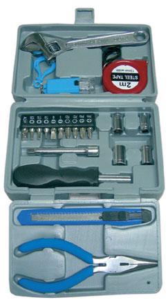 Maleta de herramientas de 21pcs herramientas y navajas - Maletas para herramientas ...
