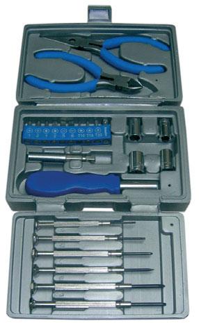 Maleta de herramientas de 24pcs herramientas y navajas - Maletas para herramientas ...
