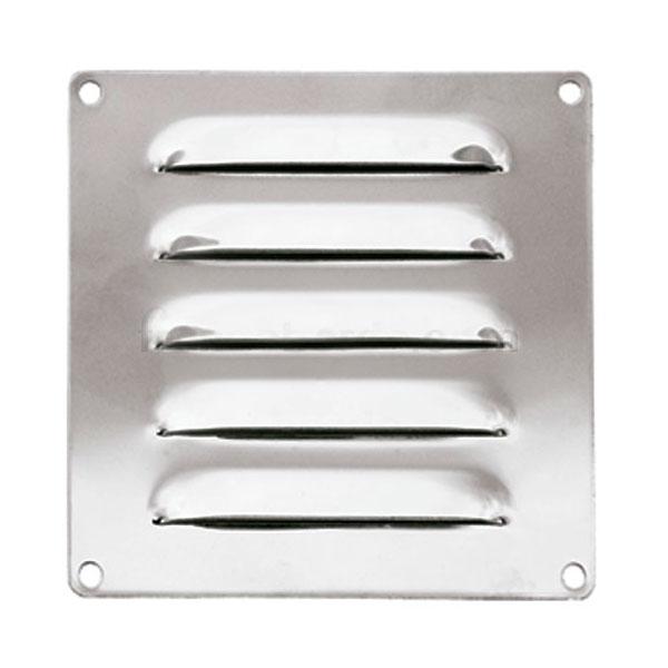 Rejilla de ventilacion inox 127 x 115 mm ventilacion - Rejilla de ventilacion regulable ...
