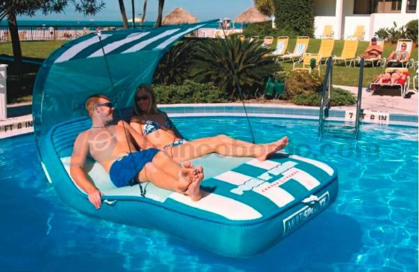 Sportsstuff colchoneta tumbona pool and beach cabana tiempo libre piscina colchonetas y - Colchonetas para piscina ...
