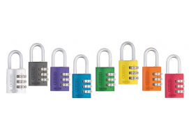 Abus Combination Lock in Aluminum 145-20 mm