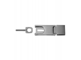 Hasp stainless steel 89x32 mm