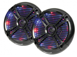 2-Way Loudspeakers with Programmable Multicolour LED Lights 6.5""