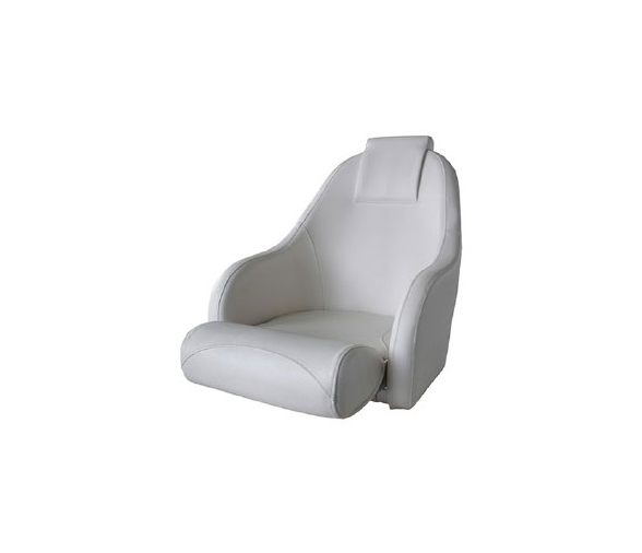 Aqualand White Deluxe Ocean 51 Flip Up Seat
