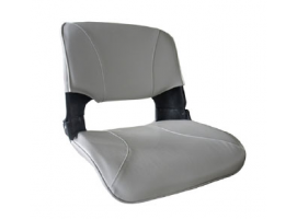Aqualand Skipper Folding Seat with White Cushions