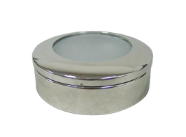 AquaLed Plafon Recessed Chrome 3W