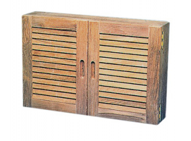 Teak Kitchen-toilet cabinet with doors