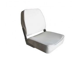 Aqualand Low Back Folding Seat Grey