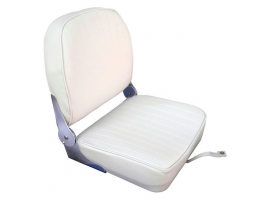 White Vinyl Foldable Seat