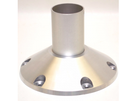 Attwood Bell Pedestal Fixed Height Anodized Machined Base