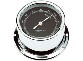 Autonautic Chrome Hygrometer Black Dial Minor