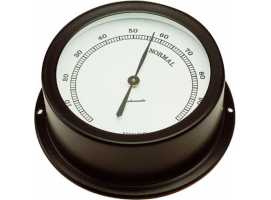 Autonautic Matte Black Hygrometer Atlantic