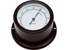Autonautic Matte Black Hygrometer Minor