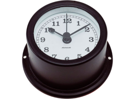 Autonautic Matte Black Quartz Clock Minor