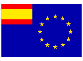 Spanish-European Flag