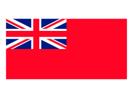 United Kingdom Navy Flag