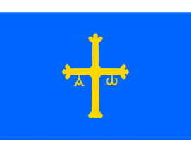 Principality of Asturias Flag