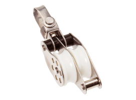 Barton Inox Double Swivel with Becket Block