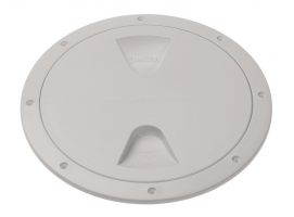 Barton White Screw Inspection Cover Round