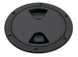 Barton Black Screw Inspection Cover Round