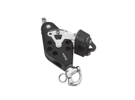 Barton Fiddle Snap Shackle with Becket and Cam Block Ball Bearing Sheave N
