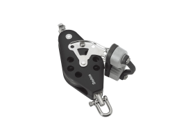 Barton Fiddle Swivel with Becket and Plastic Cam Block Ball Bearing Sheave N