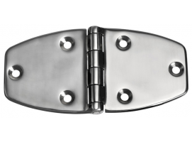 Trapezoidal Stainless Steel Hinge