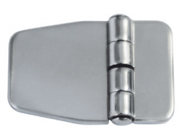 COVERED STAINLESS STEEL HINGE  57x37 mm