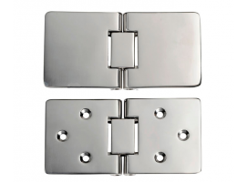 Precision Microcast Rectangular Hinges 180 Degrees Rotation
