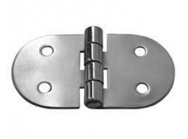 Stainless Steel Hinge 71 x 38 mm