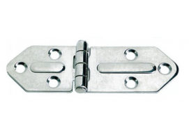 127 x 40 mm Thickness 2.5 mm Stainless Steel Hinge