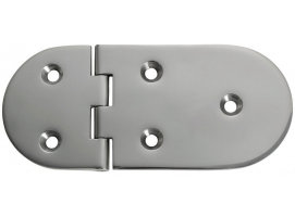 145 x 65 mm Inox Hinge 95 Degrees Opening
