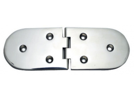 190 x 65 mm Inox Hinge 95 Degrees Opening
