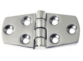 38 x 74 mm Thickness 5 mm Stainless Steel Hinge