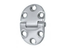 2 mm Thickness 47 x 30 mm Stainless Steel Hinge