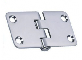 2 mm Thickness 70 x 38.1 mm Stainless Steel Hinge