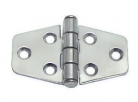 2 mm Thickness 70 x 38 mm Stainless Steel Hinge